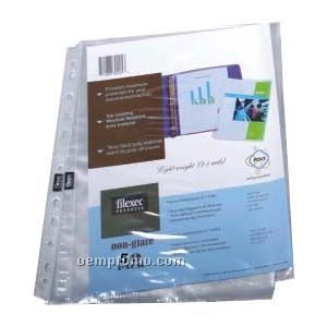 25 Pack Top Load 3 Mil Clear Sheet Protectors
