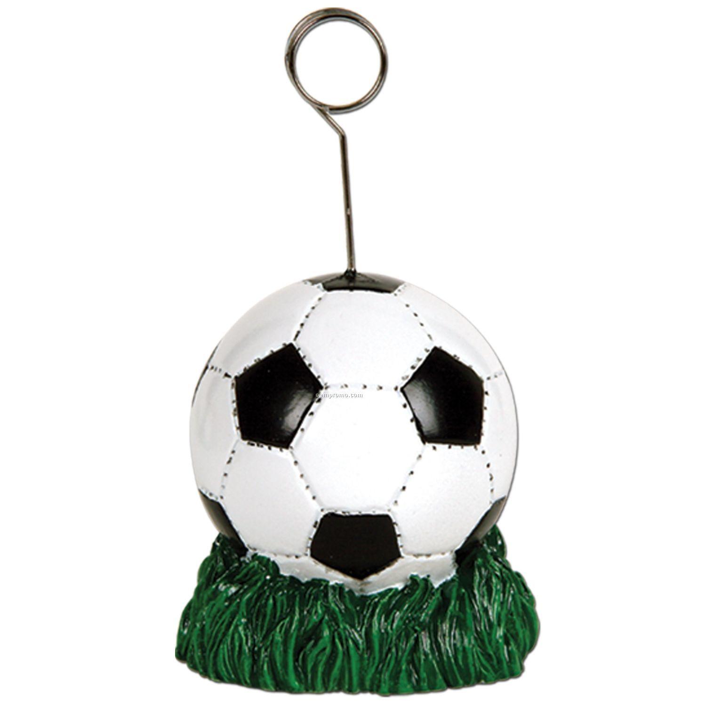 Soccer Ball Photo/ Balloon Holder