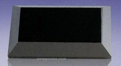 """Black Marble Beveled Base (3/4""""X11""""X3"""")"""