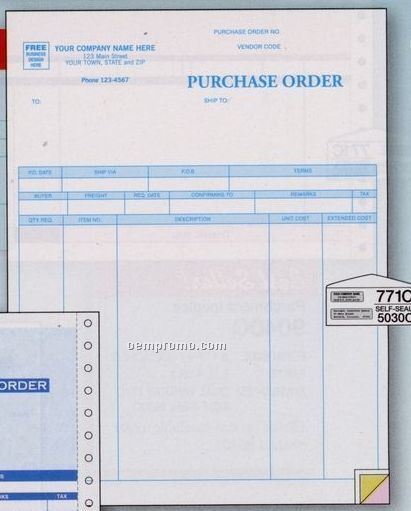 Parchment Purchase Order