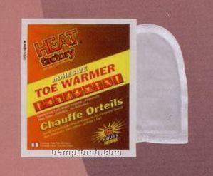 Adhesive Toe Warmer Pair In Custom 2 Sided Poly Bag (6 Hour)