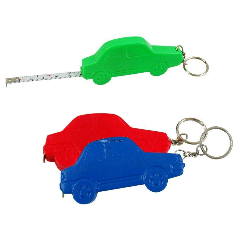 Car Tape Measure W/ Key Chain