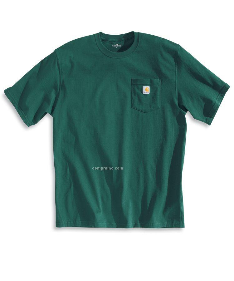 Carhartt Short Sleeve Tall Workwear Tee Shirt W/Pocket (Lt-2xt)