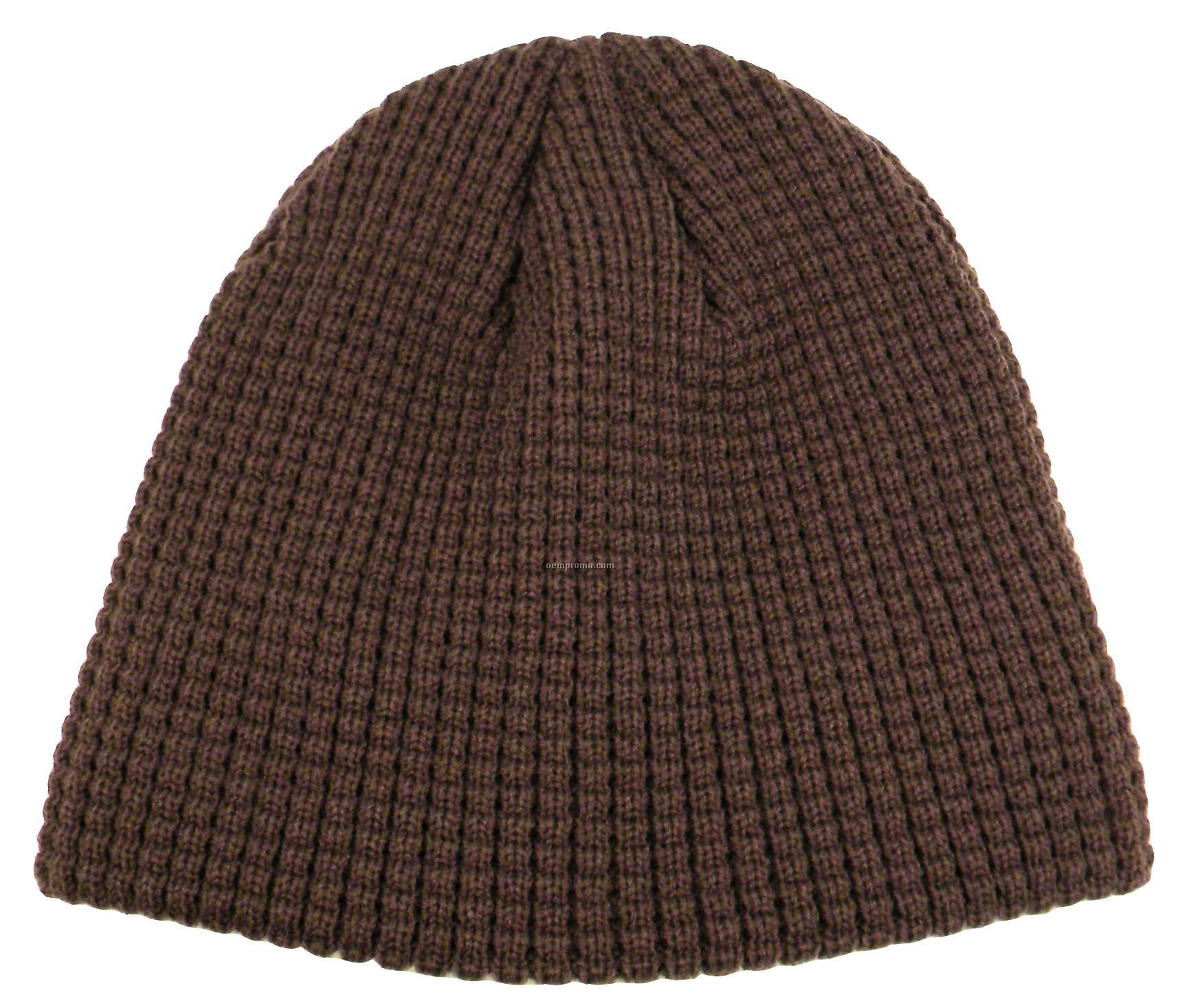 Solid Colored Big Bear Eco Beanie (Blank)