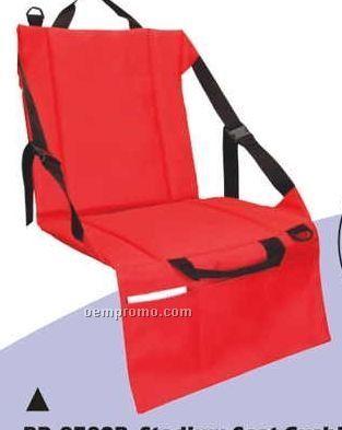 Stadium Seat Cushion W/ Pocket