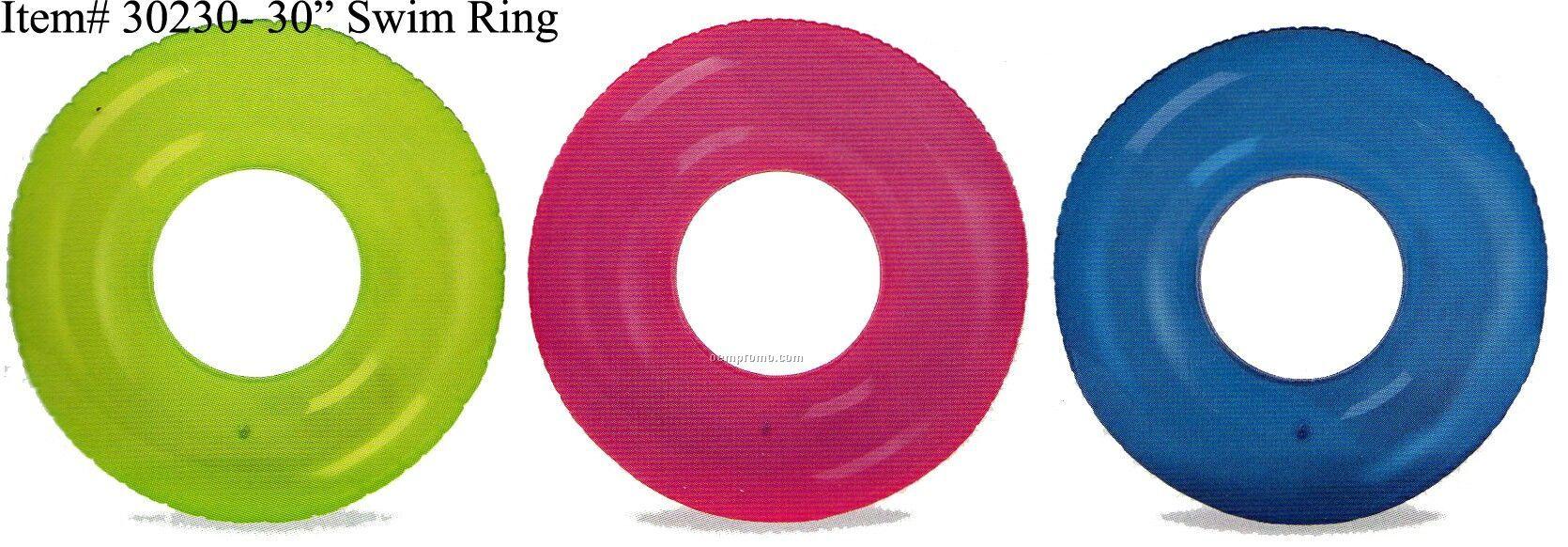 Description 30 Swim Ring Swimming Pool Water Swim Tube Round Circle 30
