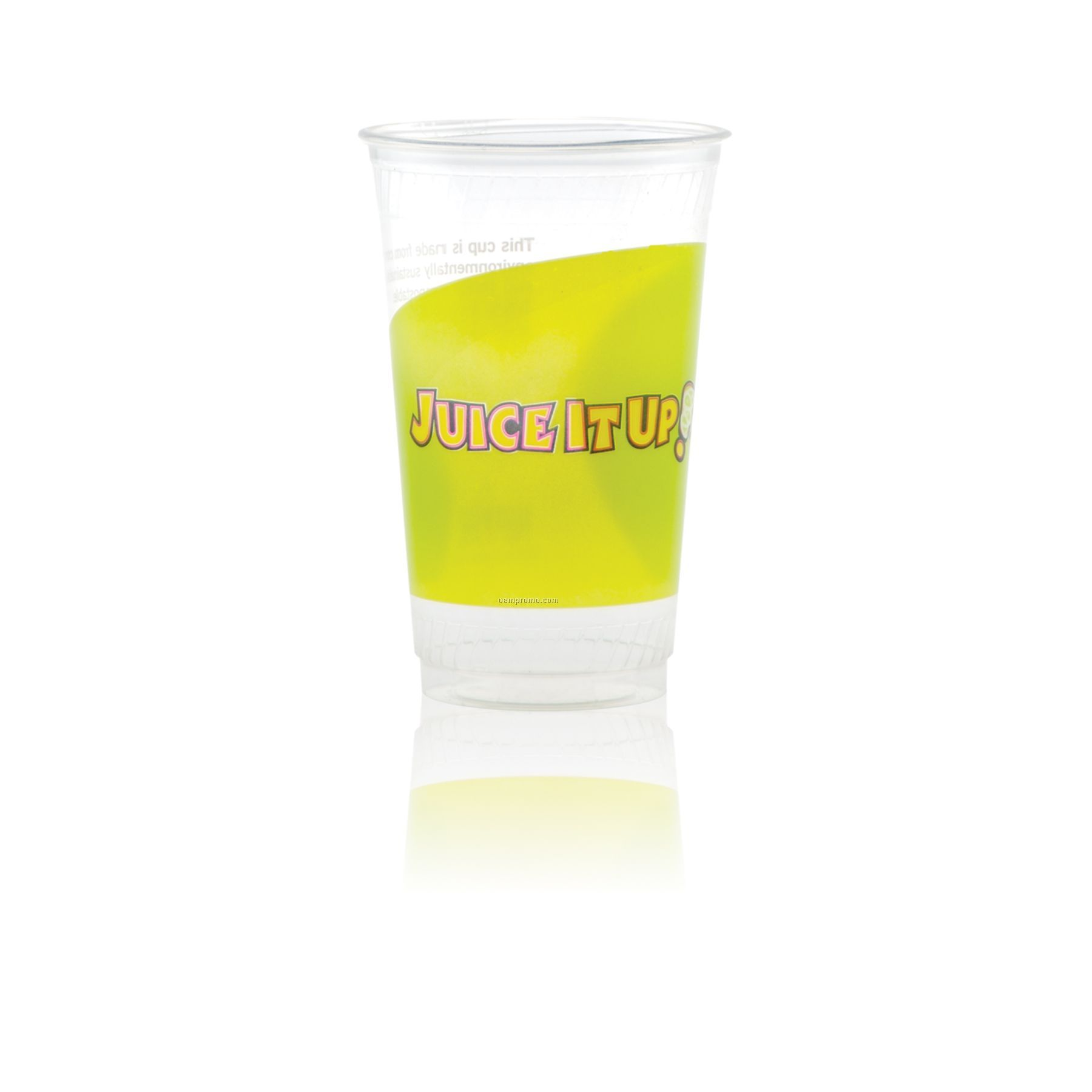 20 Oz. Clear Greenware Cold Cup