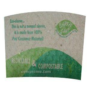 Craft Paper Beverage Insulator Sleeve