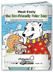 Fun Pack Coloring Book W/ Crayons - Meet Emily The Eco-friendly Polar Bear