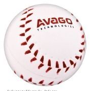 "Baseball Foam Stress Ball - Priority (2 1/2"")"