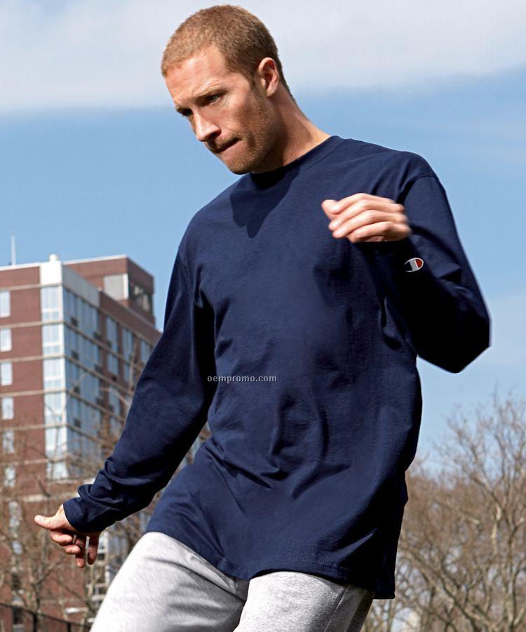 Champion Long Sleeve Tagless Tee Shirt (S-2xl)