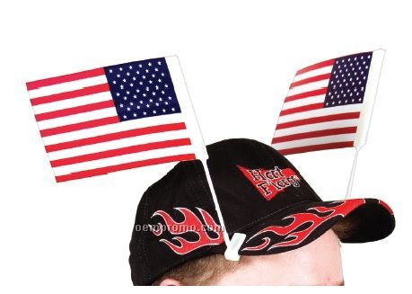 Hat Flags (Pennant Pairs) Flexographically Printed
