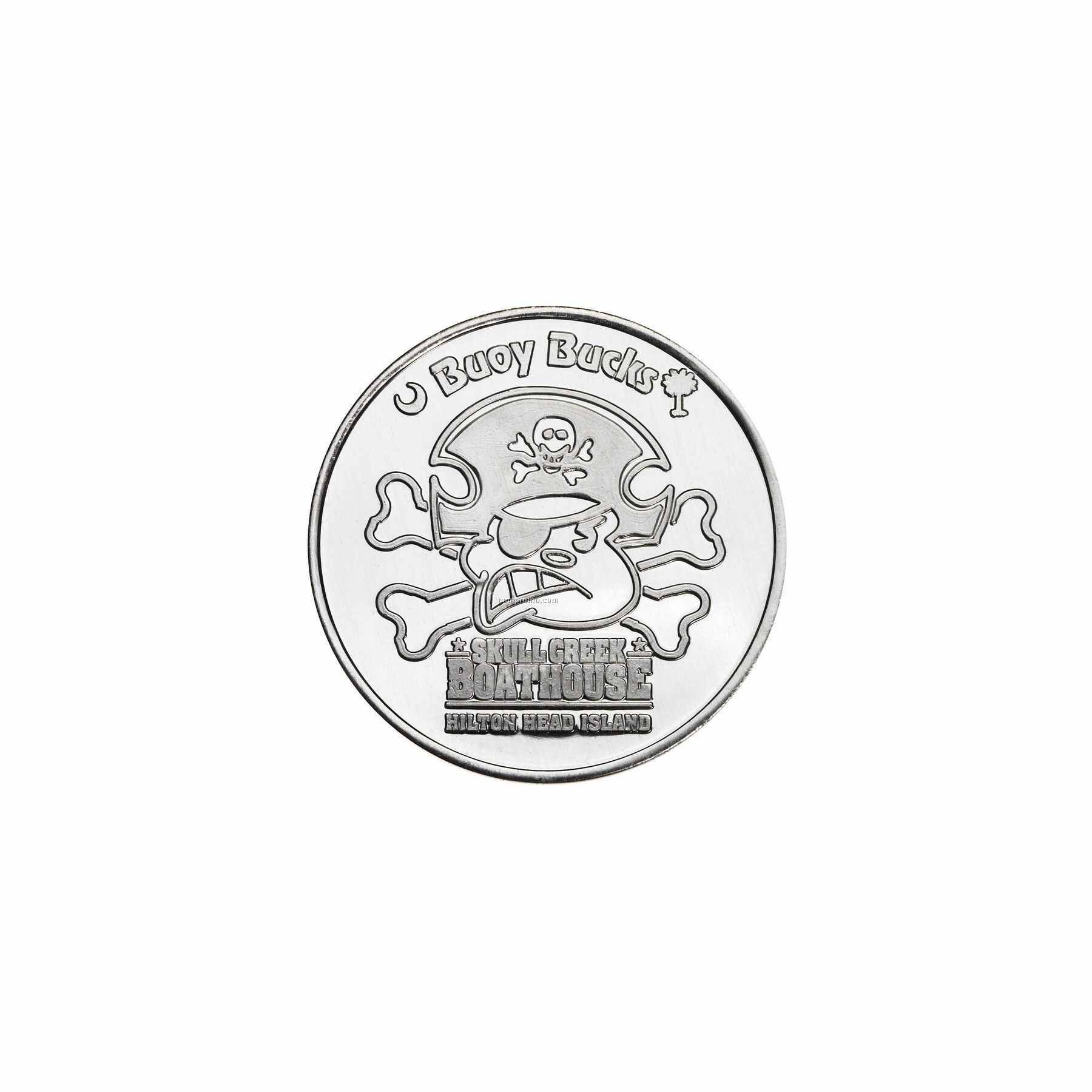 "Aluminum Coin - Medallion (0.984"")"