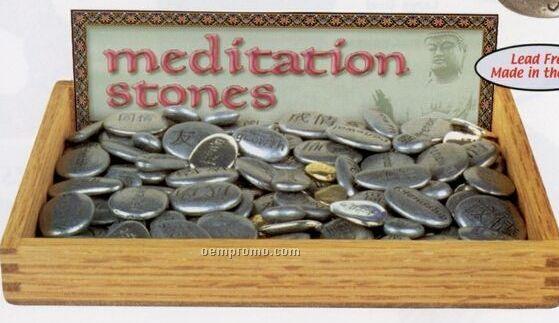 Meditation Stone (Courage)