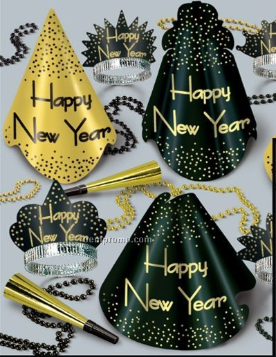 Sparkling Gold New Year Assortment For 50 People