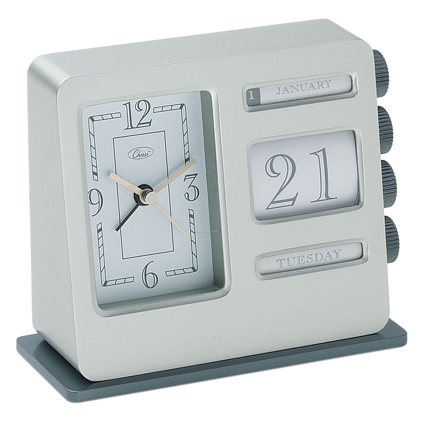 Bank Calendar Alarm Clock