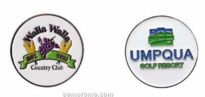 Custom Ball Marker-iron With Color