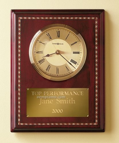 Howard Miller Honor Time II Award Clock (Blank)