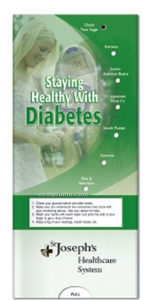 Pocket Slider Chart - Staying Healthy W/Diabetes