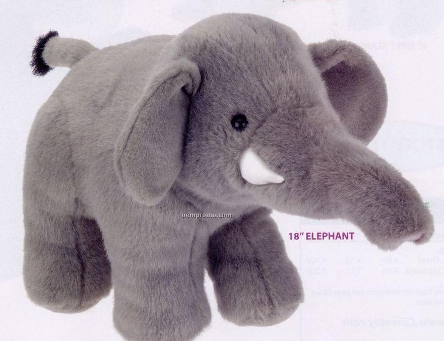 Stock Elephant Plush Stuffed Animal