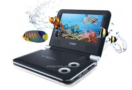 """Coby 3d 7"""" Portable DVD Player"""