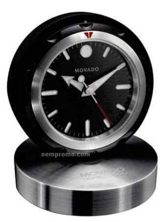 Movado Group Sleek & Versatile Travel Alarm Clock