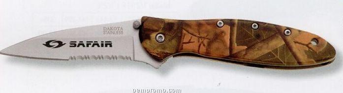 Sierra Camouflage Pocket Knife