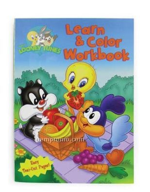 Baby Looney Tunes Jumbo Coloring & Activity Book