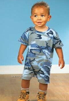 Code V Toddler Camouflage T-shirt Romper