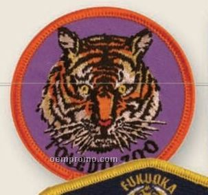 "Embroidered Emblem W/ Up To 75% Coverage (3"")"