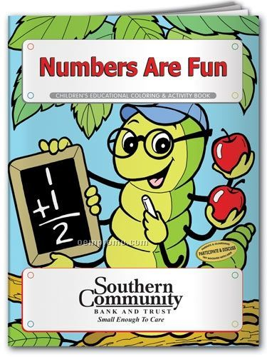Fun Pack Coloring Book W/ Crayons - Numbers Are Fun