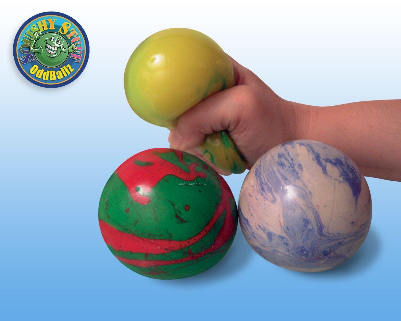 "Marble Gel Ball (2.5"")"