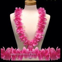 Pink Flower Leis