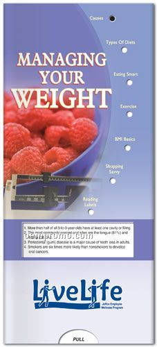 Pocket Slider Chart - Managing Your Weight