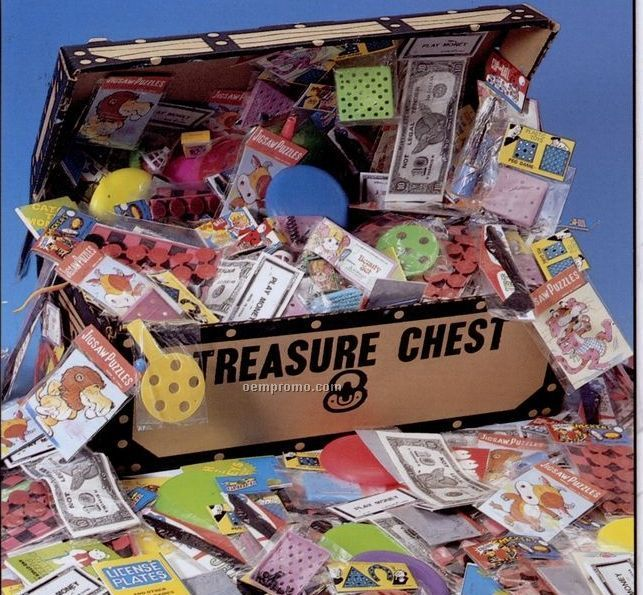 Popular Toys In Treasure Chest