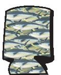 Sportsman Series Beverage Insulator (Yellowfin Tuna)