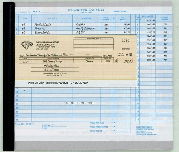 General Disbursement Ez Writer Check (2 Part)