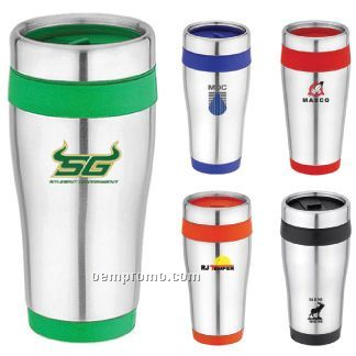 16 Oz. Stainless Steel Mug/Tumbler