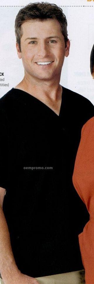 Bill Blass Unisex V-neck Scrub Top Shirt