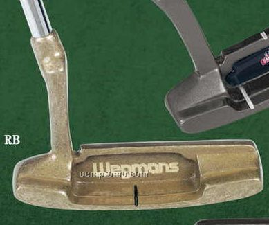 Brass Putter With Full-color Medallion