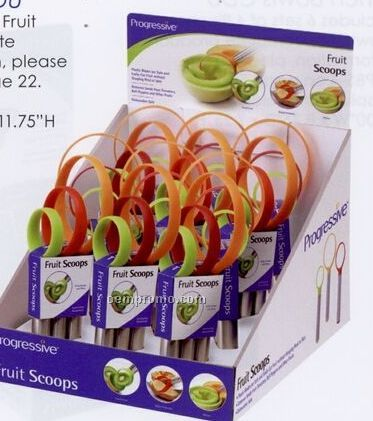 Fruit Scoops Counter Display Unit