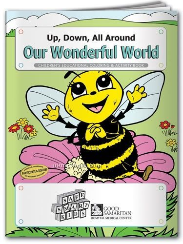 Fun Pack Coloring Book With Crayons/ Up-down-all Around Our Wonderful World
