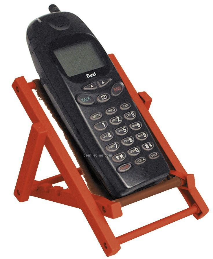 Lounge Chair Cell Phone Holder