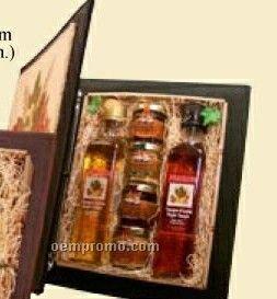 Maple Condiment Portfolio Binder Set - Vinegar/Syrup/Spread/Sugar