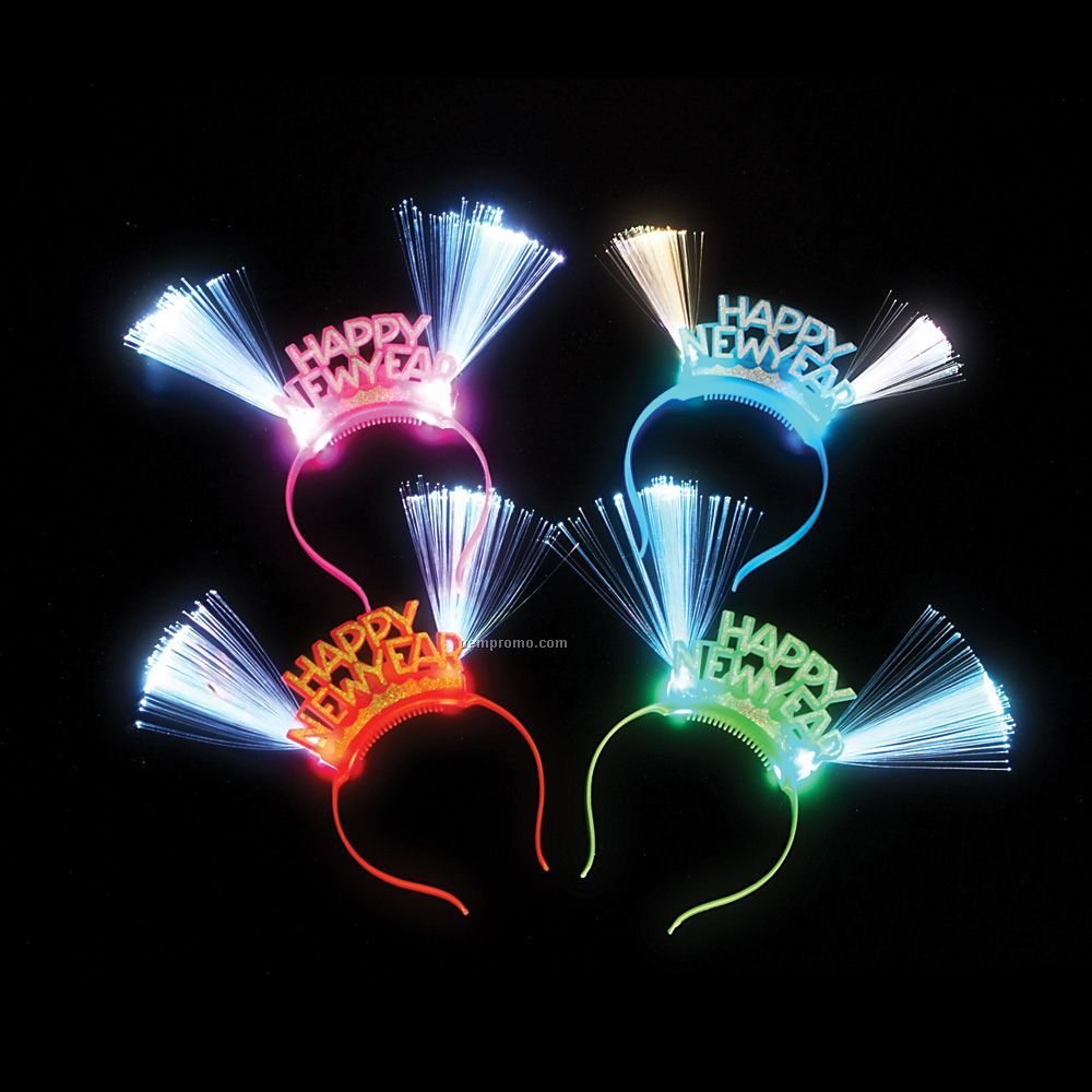 New Year Fiber Optic Headband