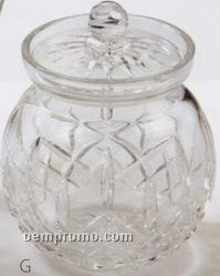 Waterford Crystal Lismore Round Biscuit Barrel