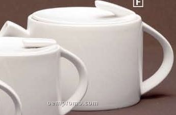 Concavo Porcelain Covered Teapot (5 Cups)