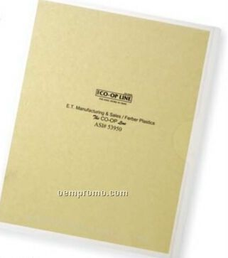 Deluxe Single Sheet Protector W/ Thumb Notched Side
