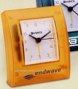 Transparent Desktop Alarm Clock