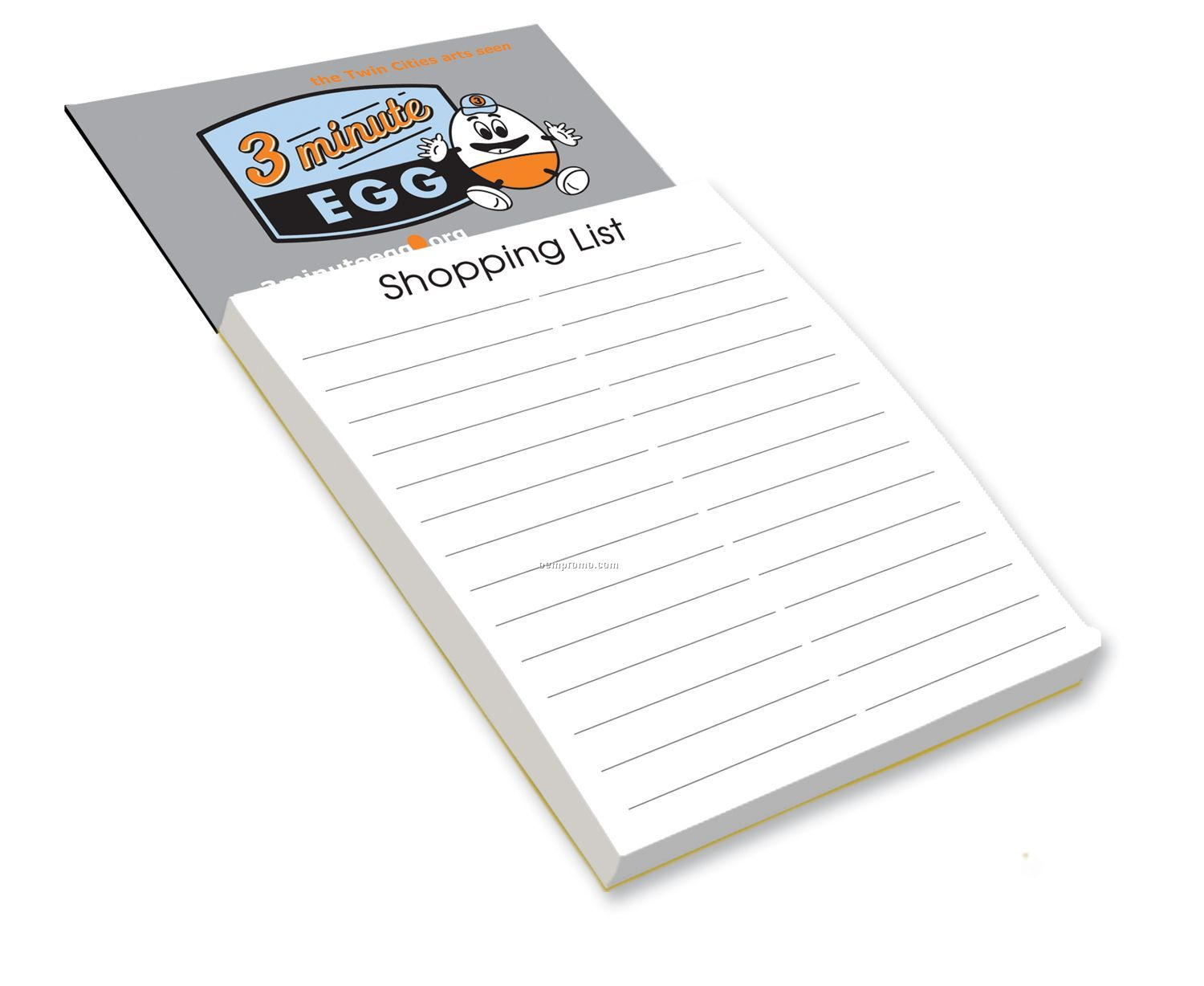 Magnetic Shopping List Pad